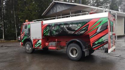 JM Pipe Welding Oy osti Etelä-Savon pelastuslaitoksella palvelleen paloauton